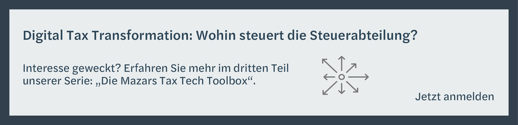 Step by Step statt All-in-One